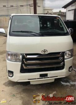 Tokunbo 2016 Toyota Hiace Hummer bus for sale in Nigeria