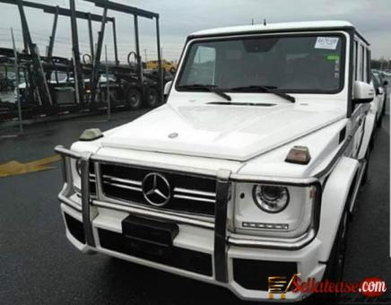 Nigerian used 2014 Mercedes Benz G63 for sale in Nigeria