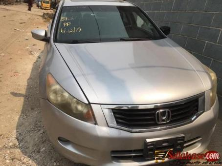 Honda 2009 Full Option With Leather Interior,sliver Color ,foreign Used For Sale