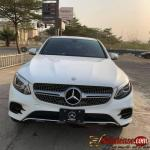 Tokunbo 2017 Mercedes Benz GLC300 Coupe for sale in Nigeria