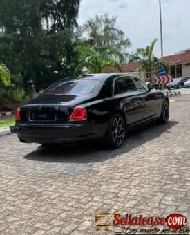 Tokunbo 2019 Rolls Royce Ghost black badge for sale in Nigeria