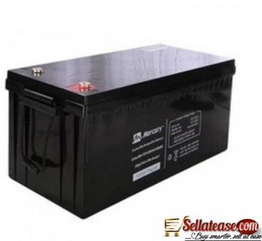 mercury 200ah/12v inverter battery