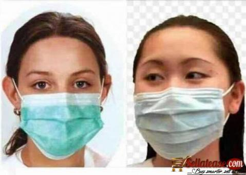 Urgent Offer ) Ply Earloop Face Mask..Hand Sanitizers For SALE