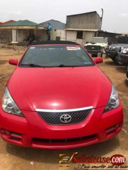 Tokunbo 2007 Toyota Camry Solara convertible for sale in Nigeria