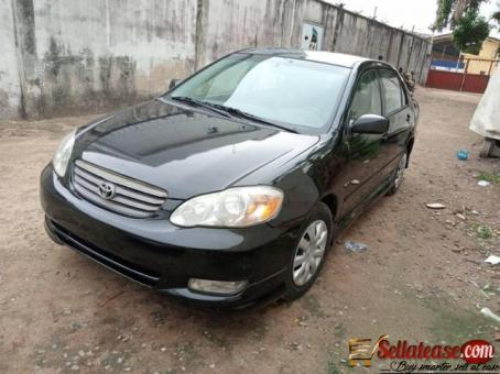 Tokunbo 2006 Toyota Corolla sport for sale in Nigeria