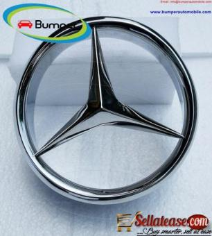 Mercedes W113 grille barrel and star (1963-1971)