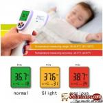 Non contact handheld thermometer