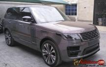 2020 Land Rover Range Rover vogue SV for sale in Nigeria