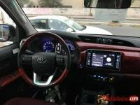 Tokunbo 2018 Toyota Hilux V6 for sale in Nigeria