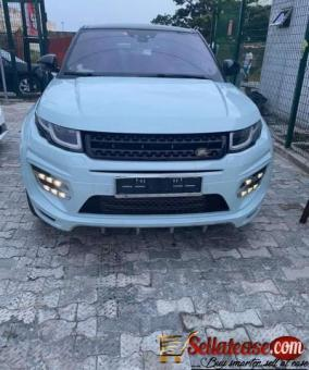 Tokunbo 2016 Range Rover Evoque for sale in Nigeria