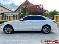 Tokunbo 2017 Mercedes Benz C300 white for sale in Nigeria