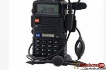 Baofeng Dual Band Two Way Radio - UV-5R - Black by hiphen