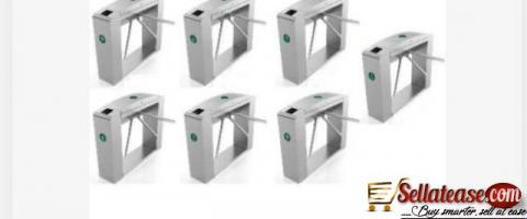 Waist Height Tripod Turnstile Access Control Gate - Set Of 6 by hiphen