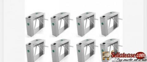 Waist Height Tripod Turnstile Access Control Gate - Set Of 8 by hiphen