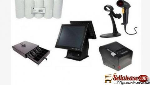 """Point of Sale System Hardware Only Kit B – 15"""" Touchscreen, Receipt Printer,"""