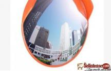 80cm Outdoor Road Traffic Convex PC Mirror Safety & Security