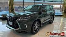 Brand new 2021 Lexus LX 570 for sale in Nigeria