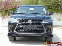 Brand new 2021 Lexus LX 570 bulletproof for sale in Nigeria