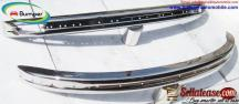 Volkswagen Beetle bumpers 1975 and onwards Stainless steel Polished