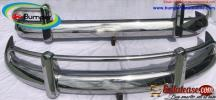 VW T1 Split Screen Bus USA Stainless Steel Bumper 1958-1968