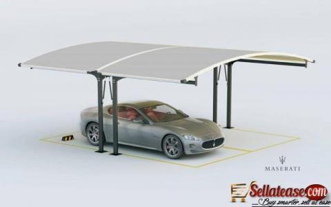 Solar Carport Car Park Canopy in Umuahia - Abia State - Nigeria