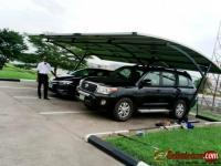Solar Carport Car Park Canopy in Umuahia - Abia State - Nigeria.