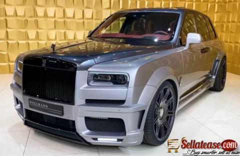 2021 Rolls Royce Cullinan for sale in Nigeria