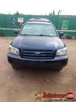 Tokunbo 2005 Toyota Highlander for sale in Nigeria