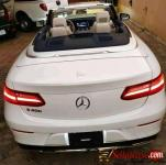 Tokunbo 2018 Mercedes Benz E 400 convertible for sale in Nigeria