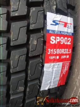 Brand new Howo truck tires for sale in Nigeria