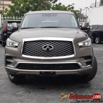Tokunbo 2019 Infiniti QX80 for sale in Nigeria