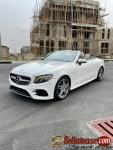 Tokunbo 2018 Mercedes Benz E 400 cabriolet for sale in Nigeria