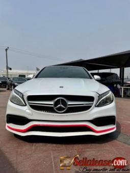 Tokunbo 2015 Mercedes-AMG C63s for sale in Nigeria