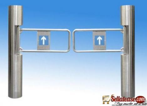Auto Open Swing Barrier Security Turnstile Gate