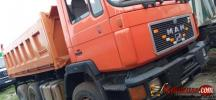 Tokunbo 2015 Man Diesel tippers double axle for sale in Nigeria