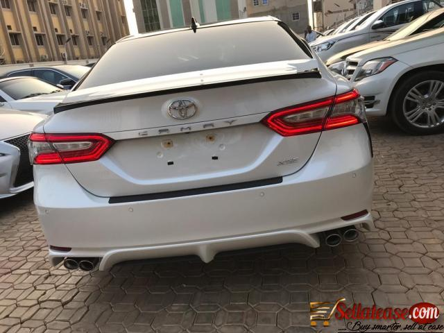 Price of Toyota Camry in Nigeria