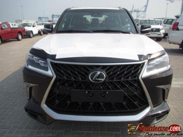 Price of Bulletproof lexus LX570 in Nigeria