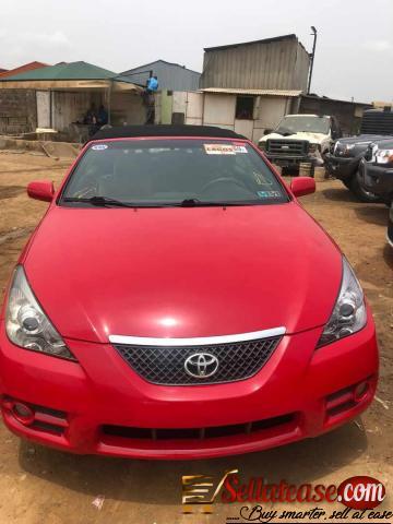 Price of Toyota Solara in Nigeria