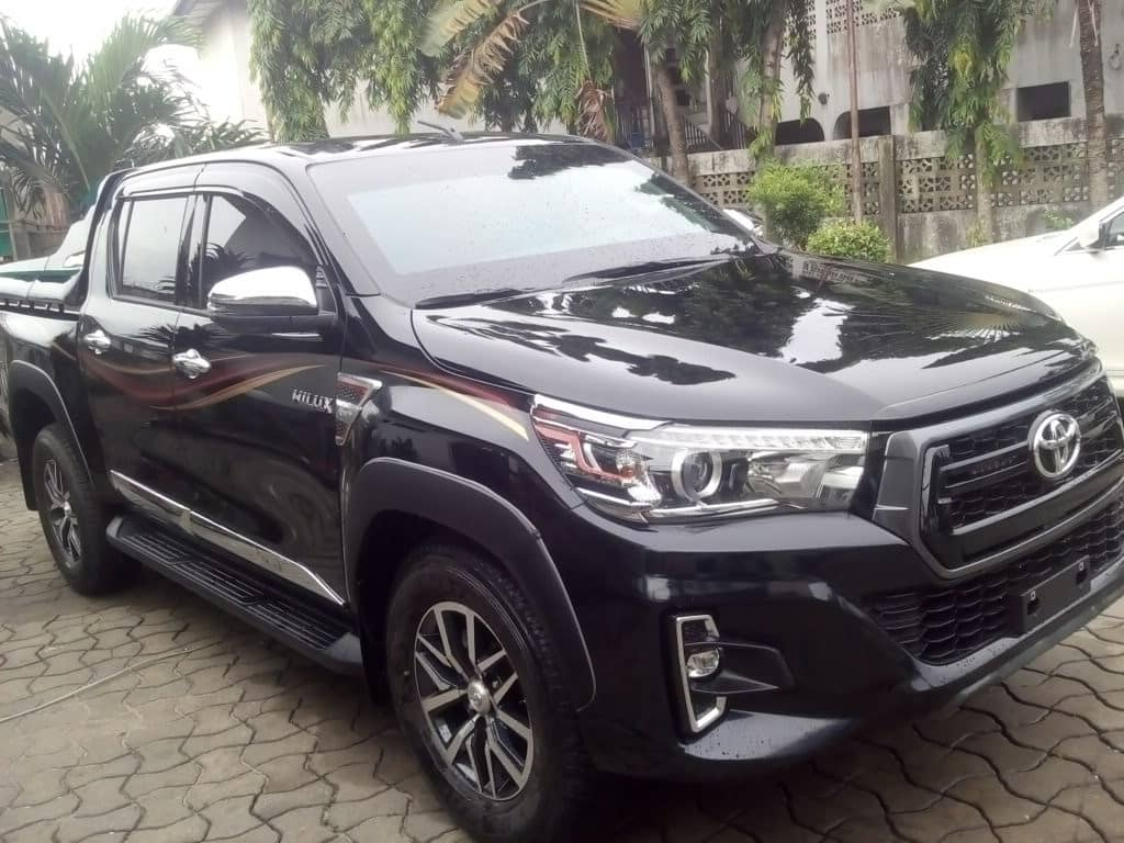Price of bulletproof Toyota Hilux for sale in nIGERIA