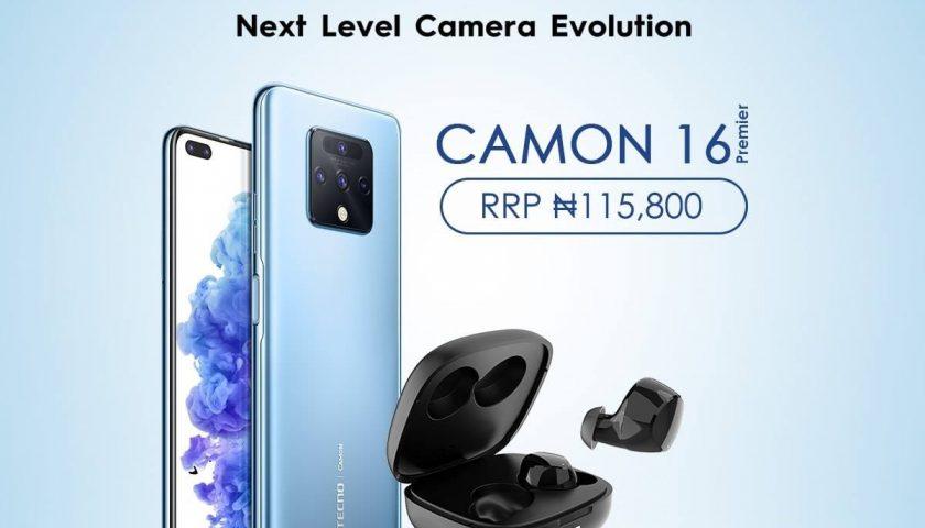 TECNO CAMON 12 Premier specification and price in Nigeria
