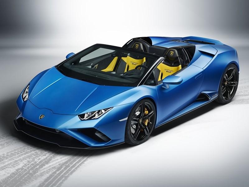 specifications and price of 2021 Lamborghini Huracan EVO rear-wheel-drive spyder in Nigeria
