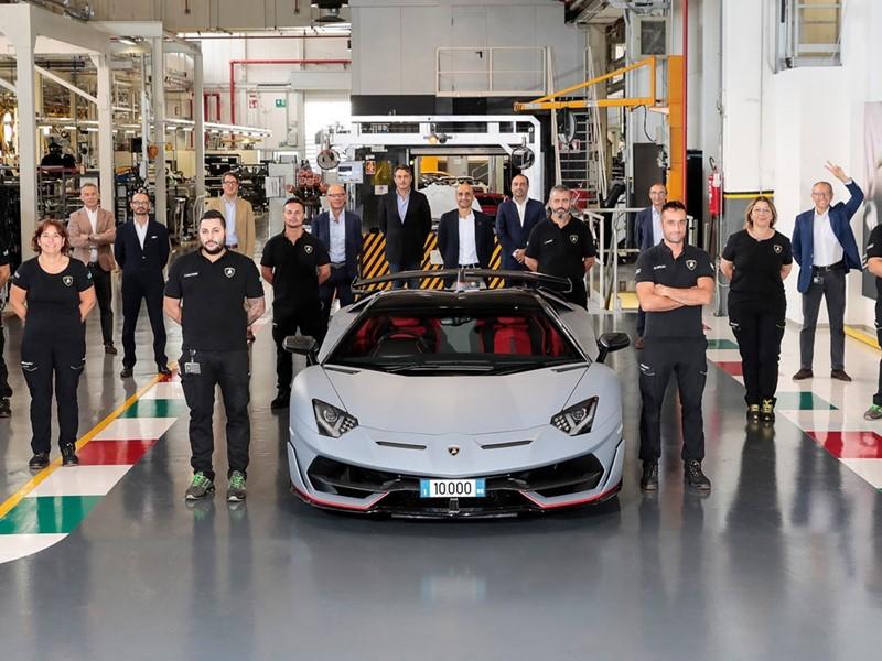 price of 2021 Lamborghini Aventador in Nigeria