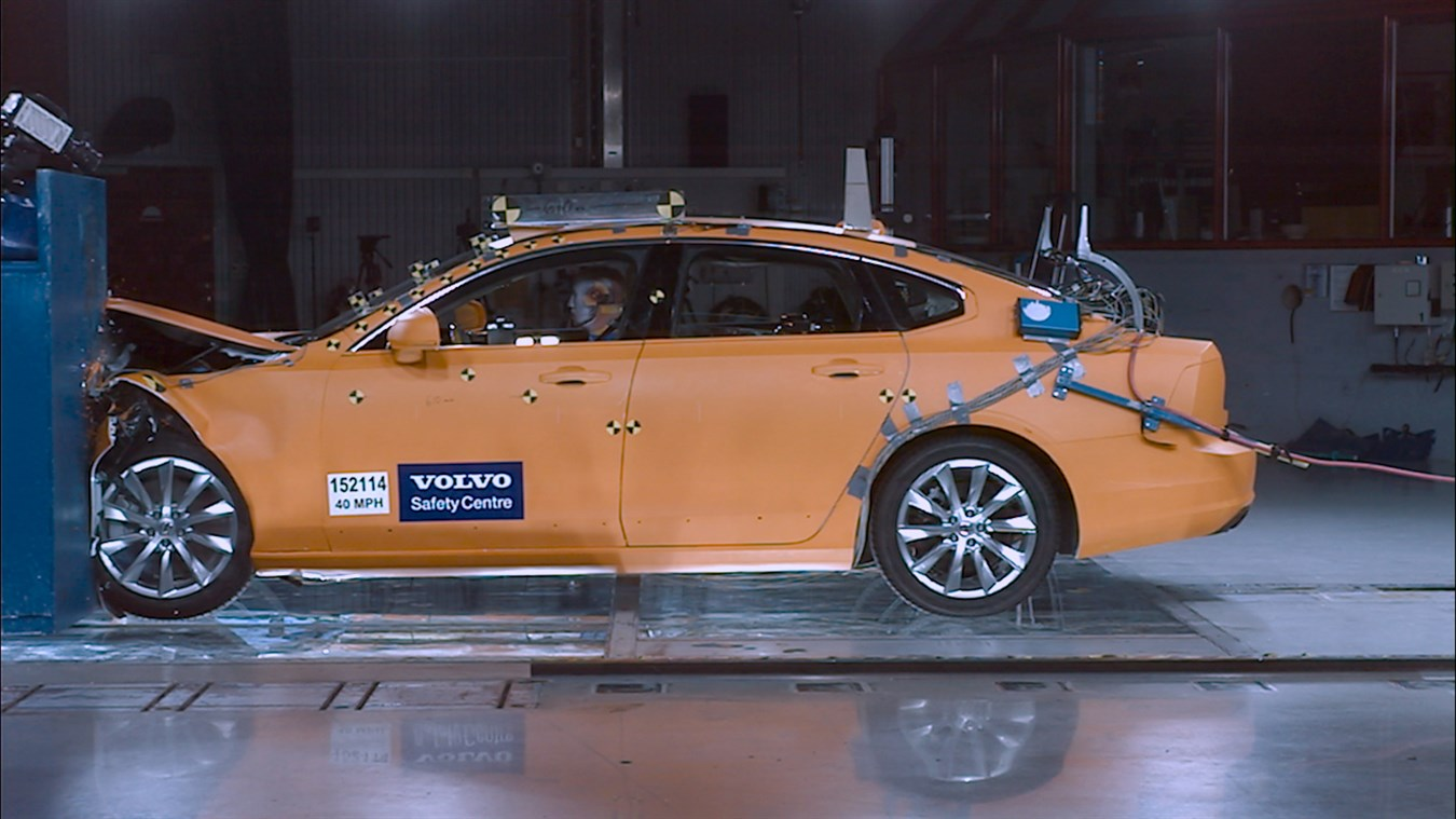 Volvo Cars Safety Center celebrates 20 years of service of saving lives