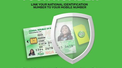 How to link your National Identification Number [NIN] to your mobile number on GLO