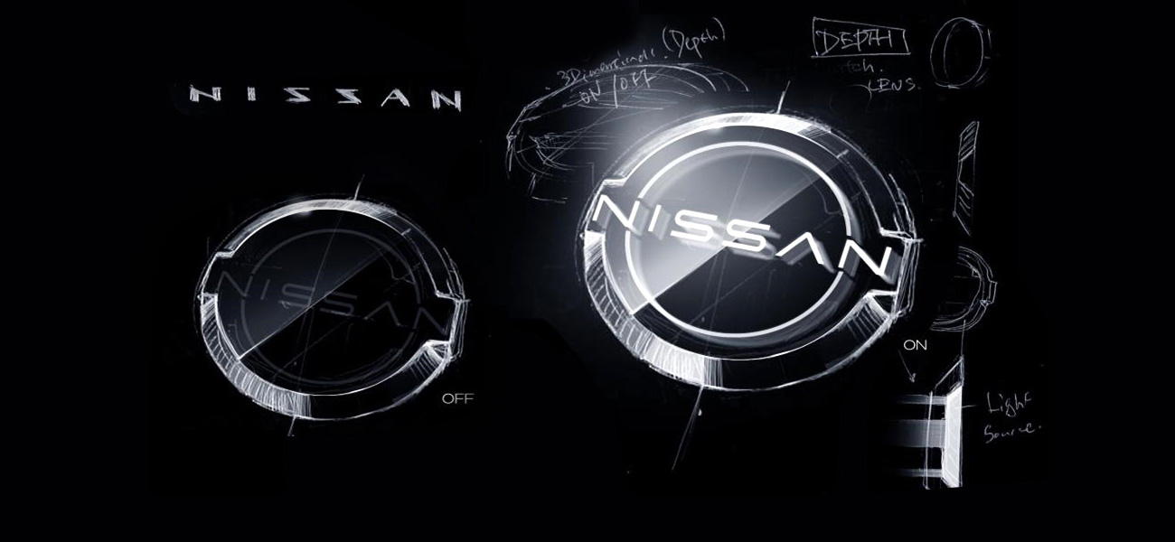 nissan redesigns its logo