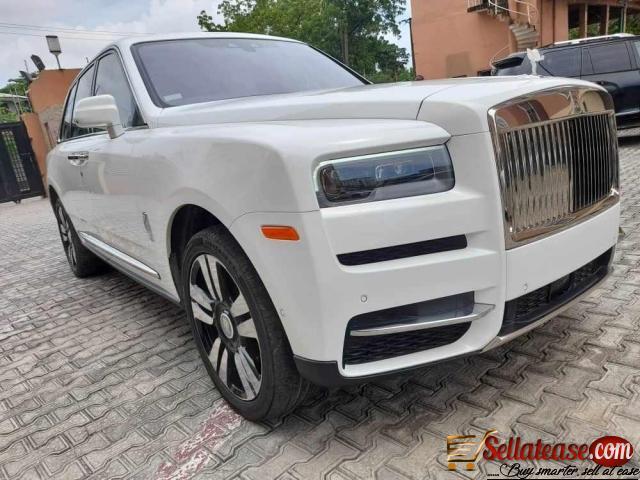Price of tokunbo Rolls Royce Cullinan in Nigeria
