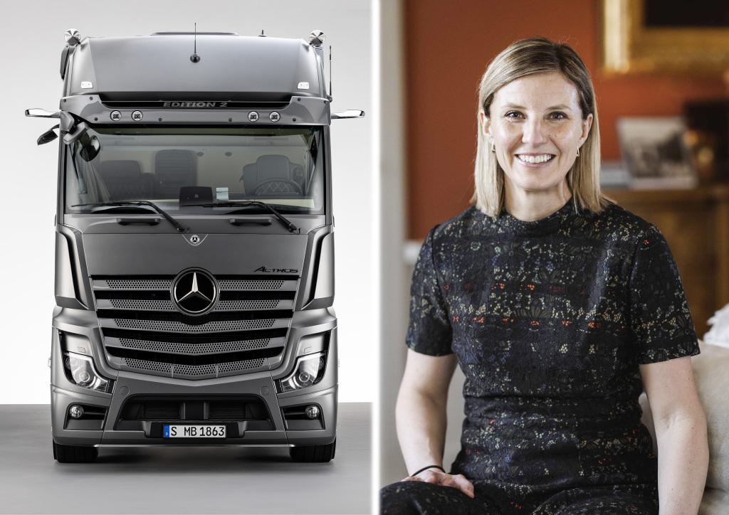 Mercedes-Benz trucks get a female director