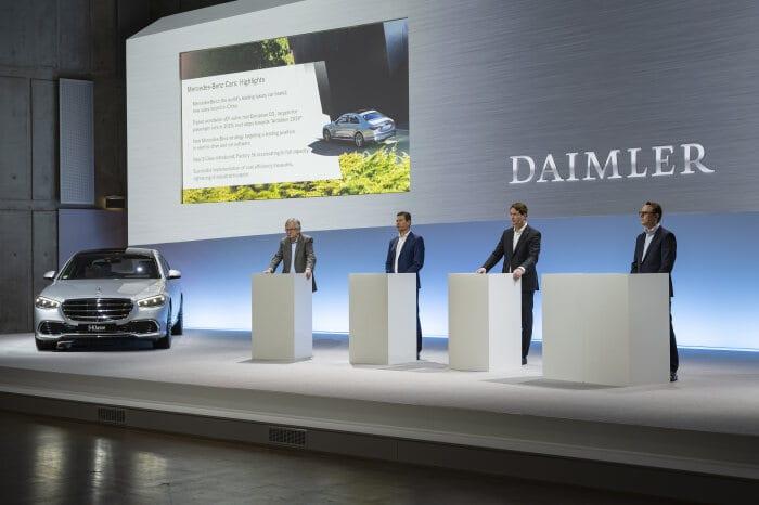 Mercedes Benz net profit 2020