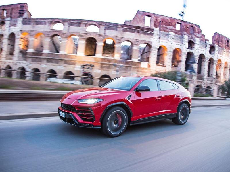 Driving modes in Lamborghini Urus