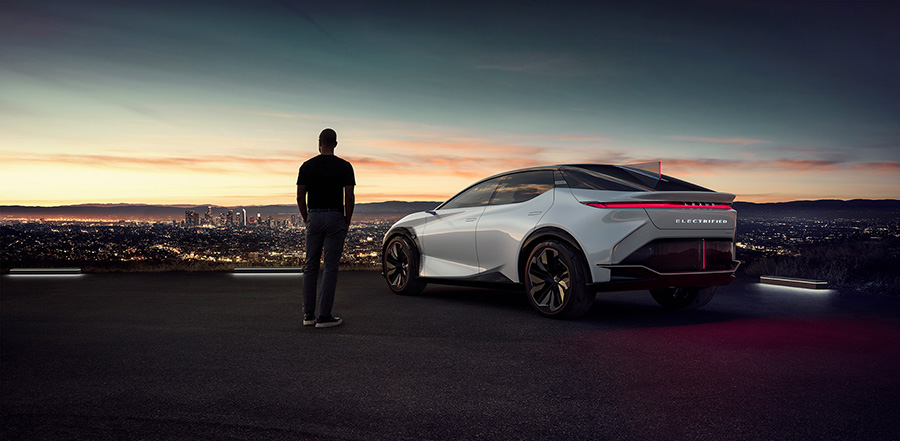 Lexus sale 2 million electric vehicles globally at the end of April 2021